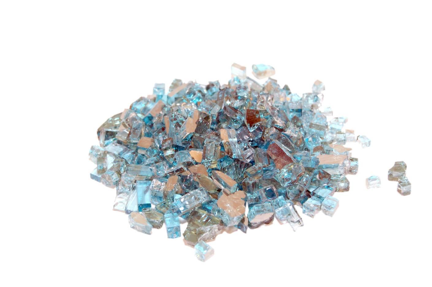 Azuria Reflective Fyre Glass