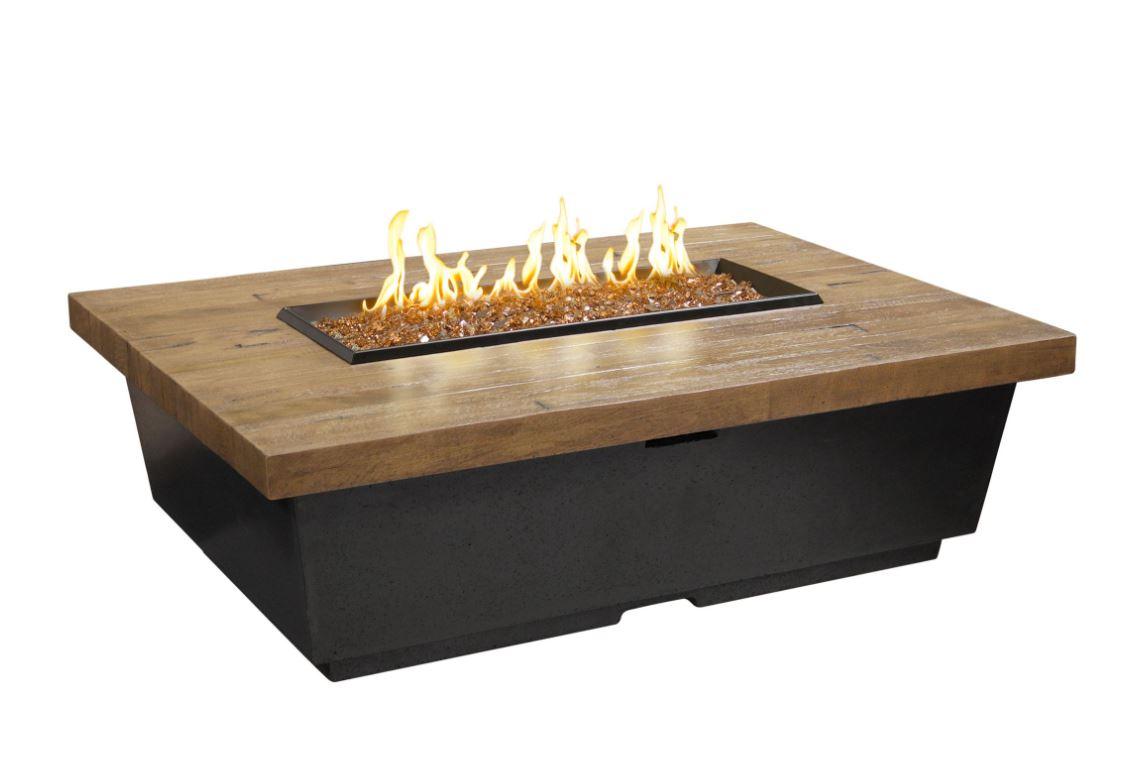Reclaimed Wood w/ French Barrel Oak Top