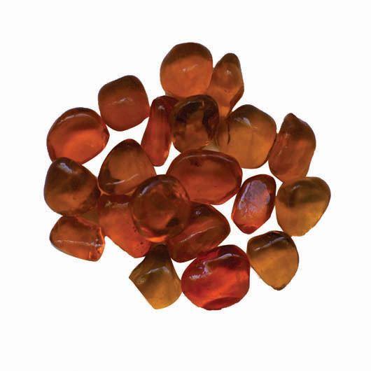 Orange Small Beads Fireglass