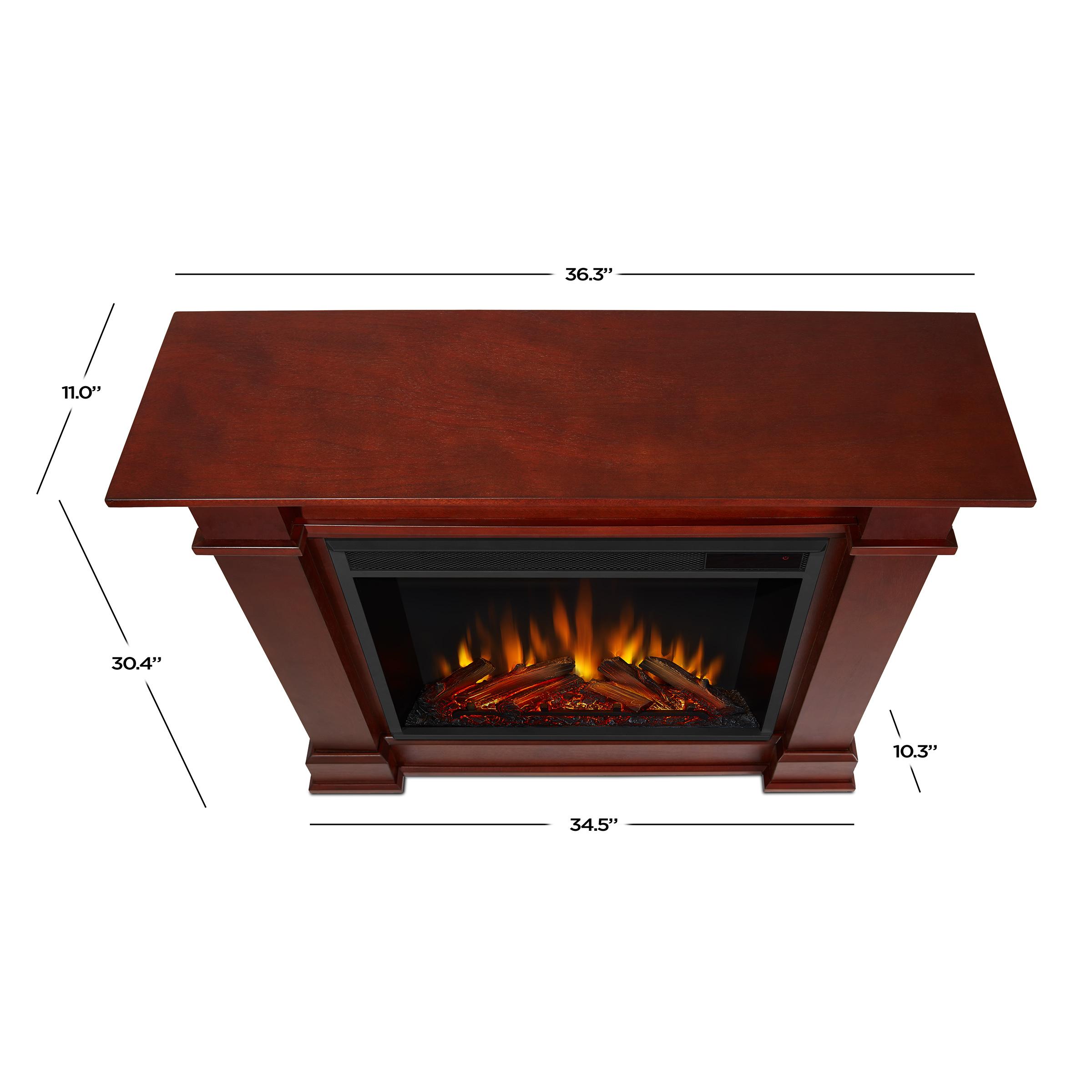 Dark Espresso Electric Fireplace Dimensions