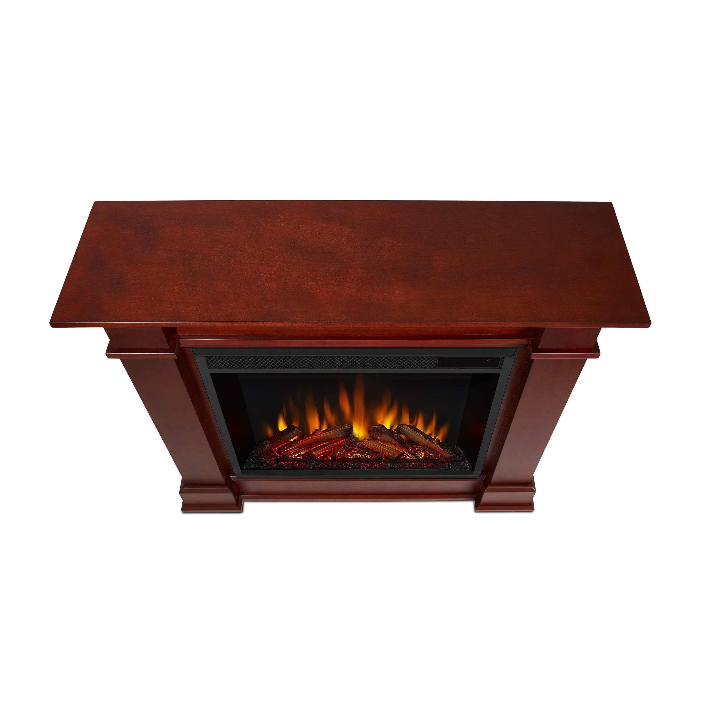 Dark Espresso Electric Fireplace Top