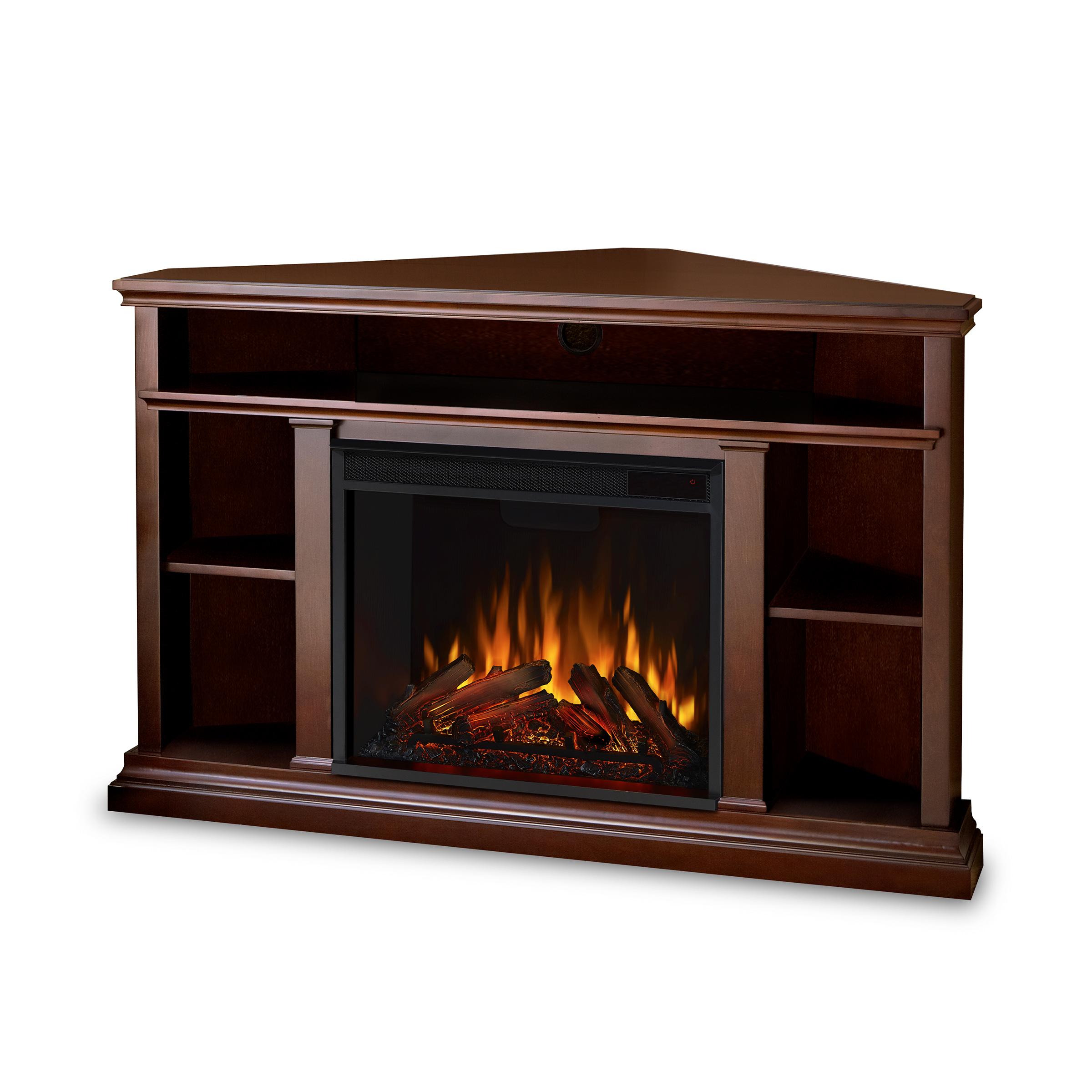 Electric Fireplace Angle