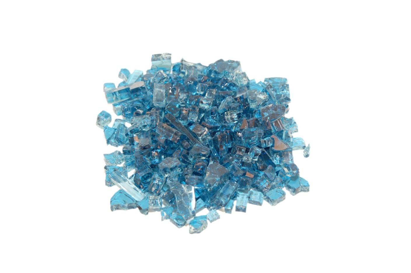 Caribbean Blue Fyre Glass