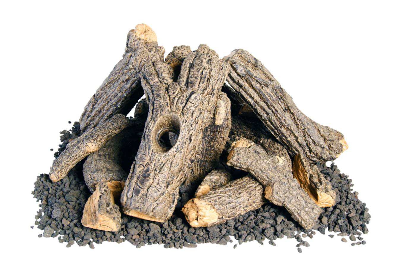 Campfyre Logs and Wood Chips