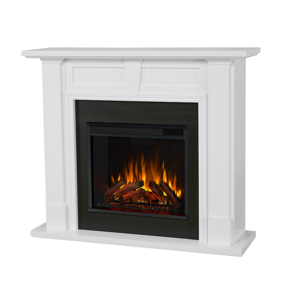 Electric Fireplace Angle