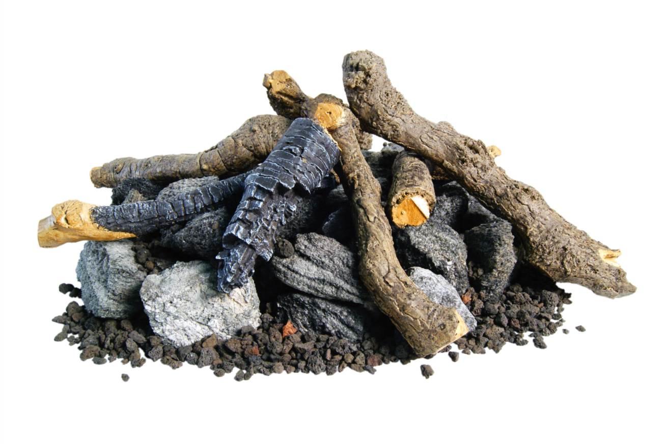 Beachwood Logs and Stones