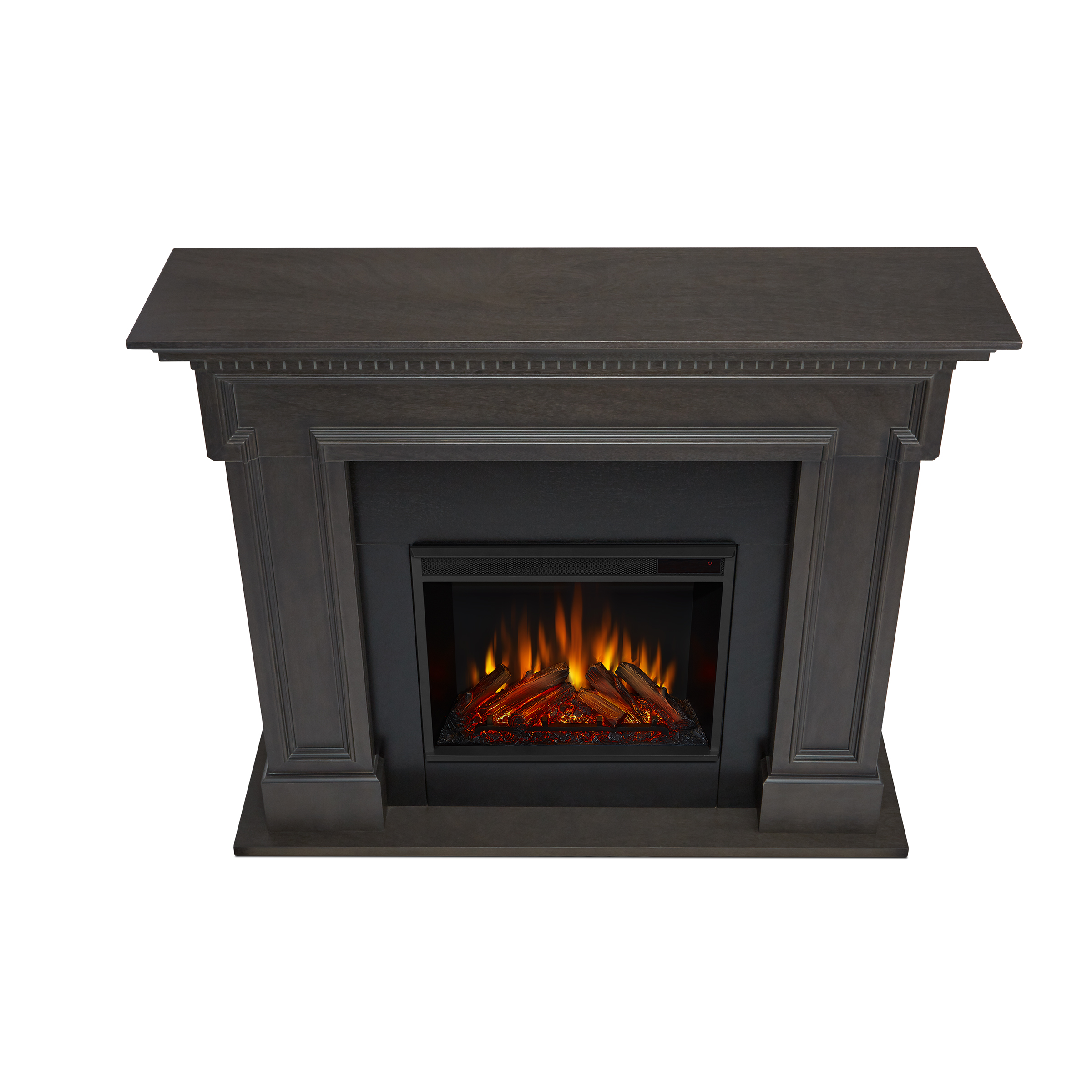 Gray Electric Fireplace Top