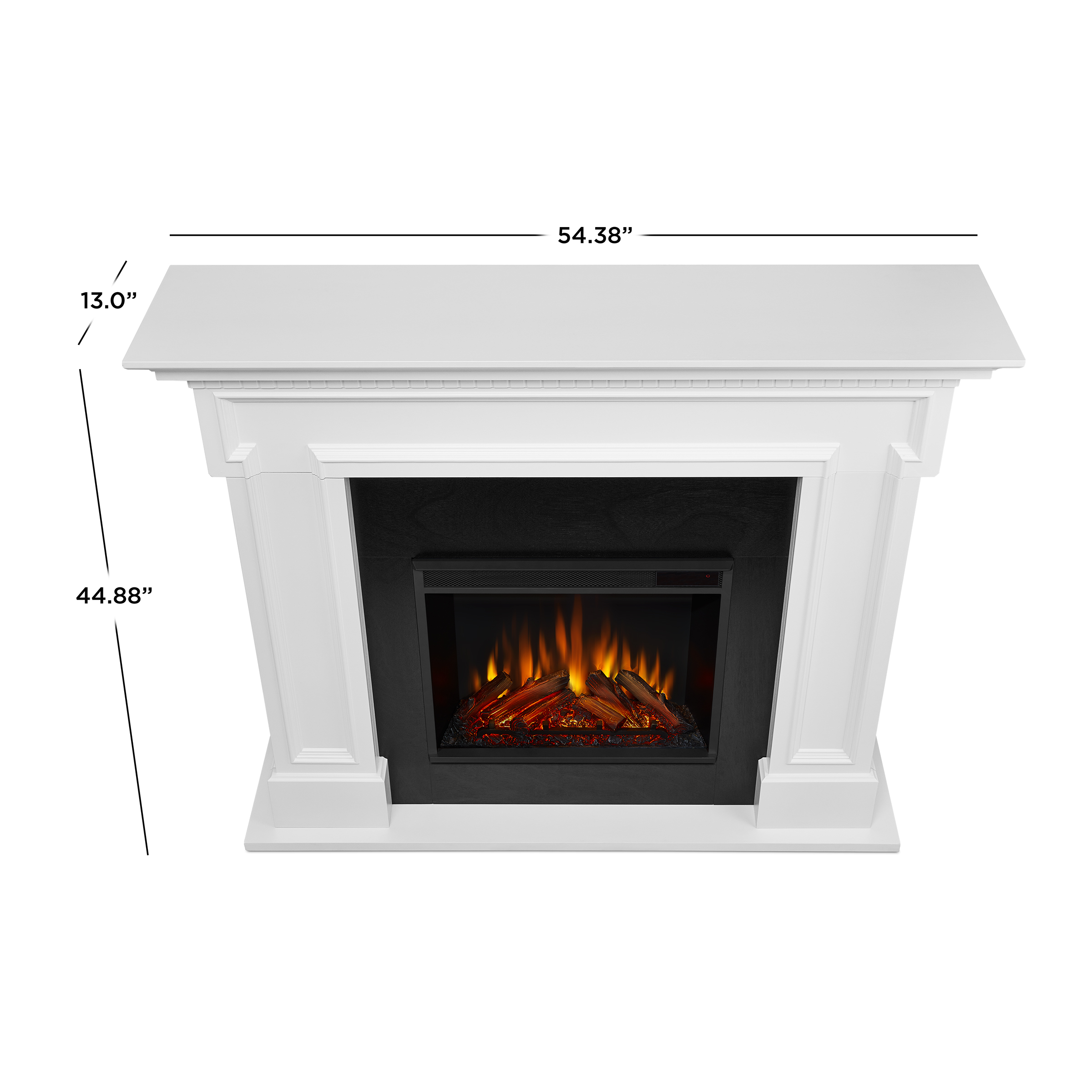 White Electric Fireplace Dimensions