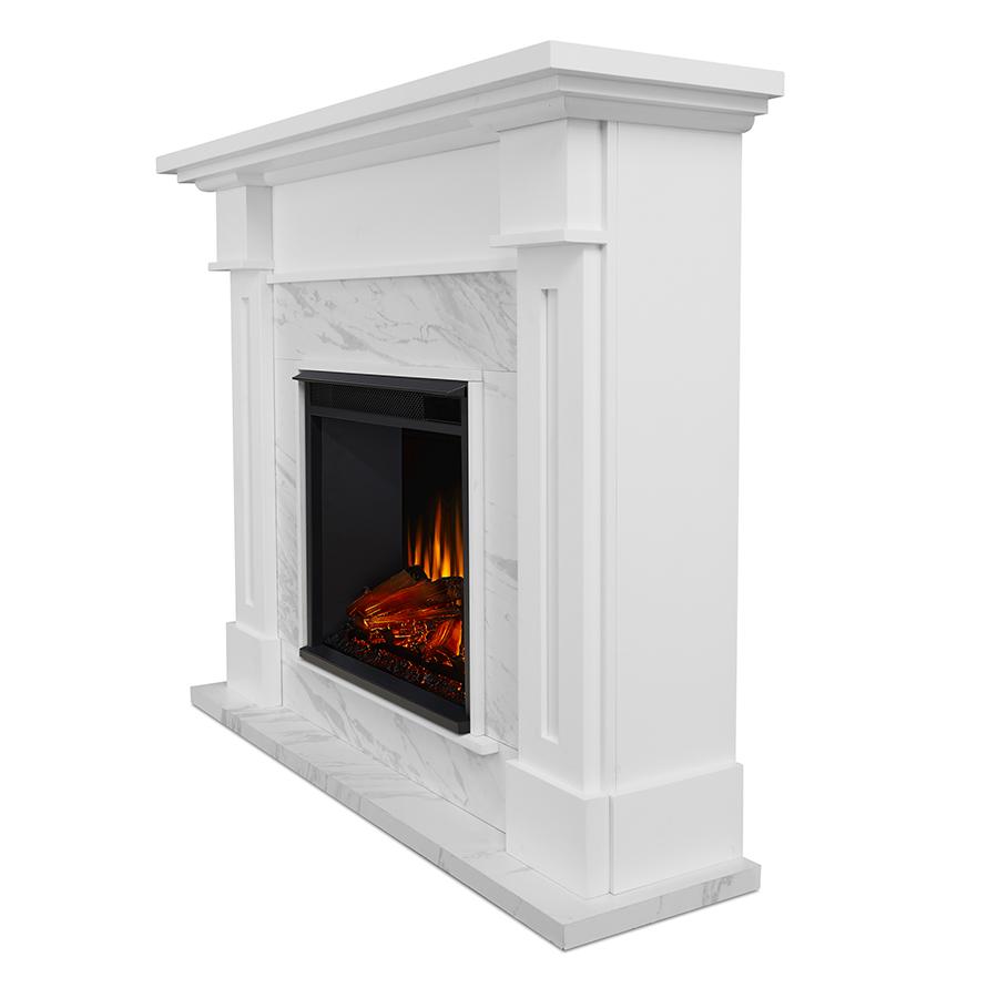 Electric Fireplace Side Angle