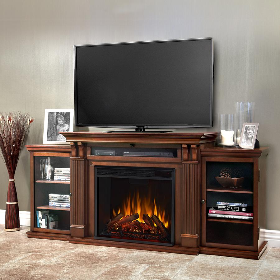 Espresso Electric Fireplace