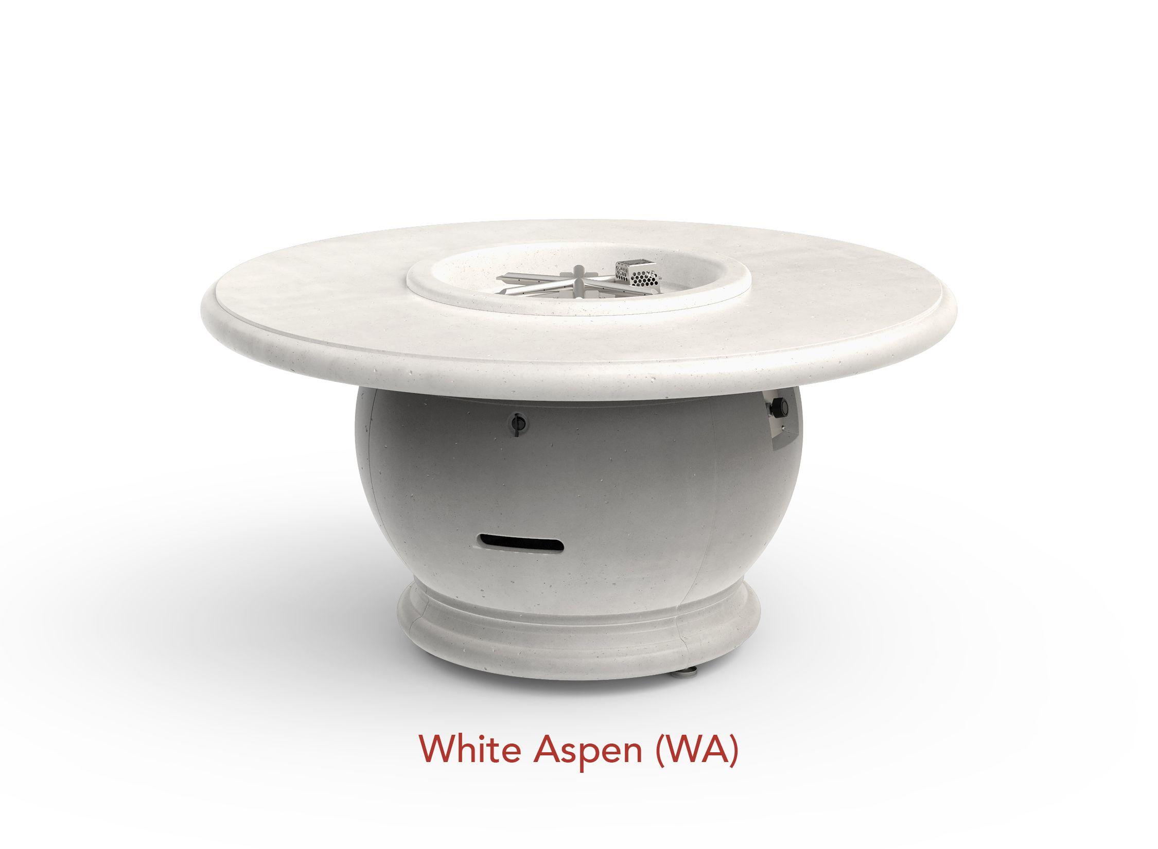 White Aspen Finish