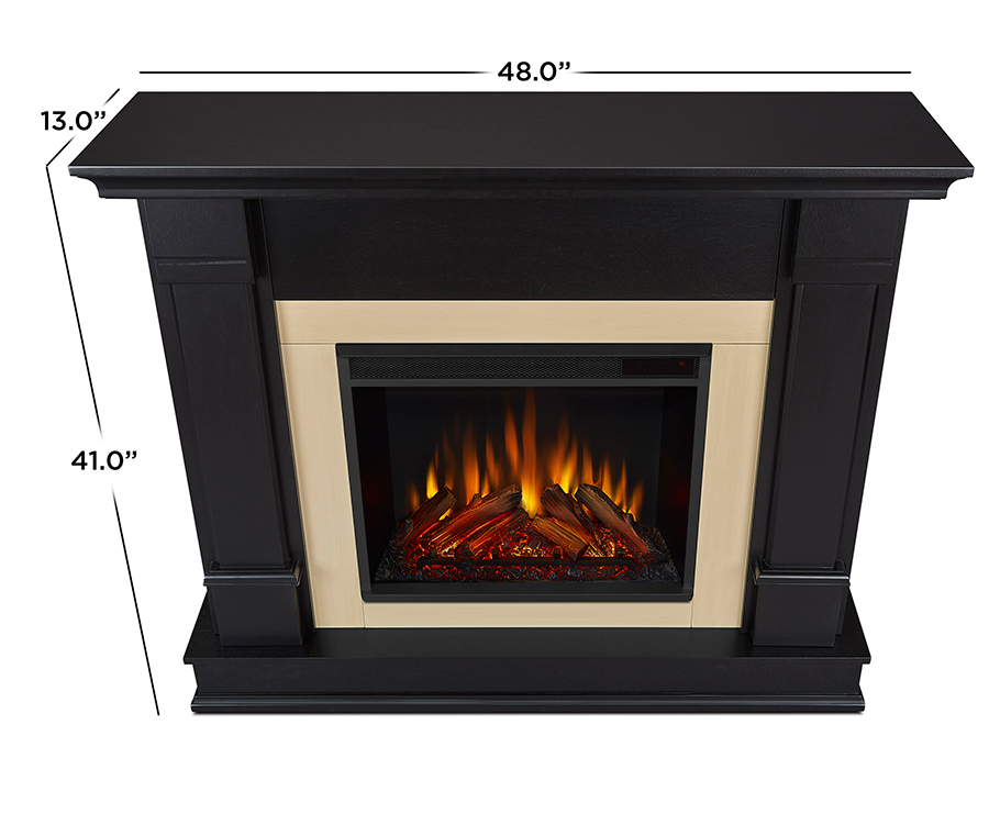Black Electric Fireplace Dimensions