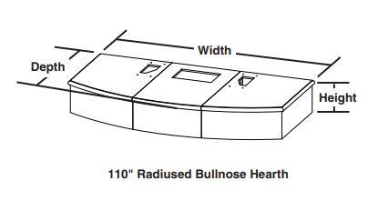 Radiused Bullnose