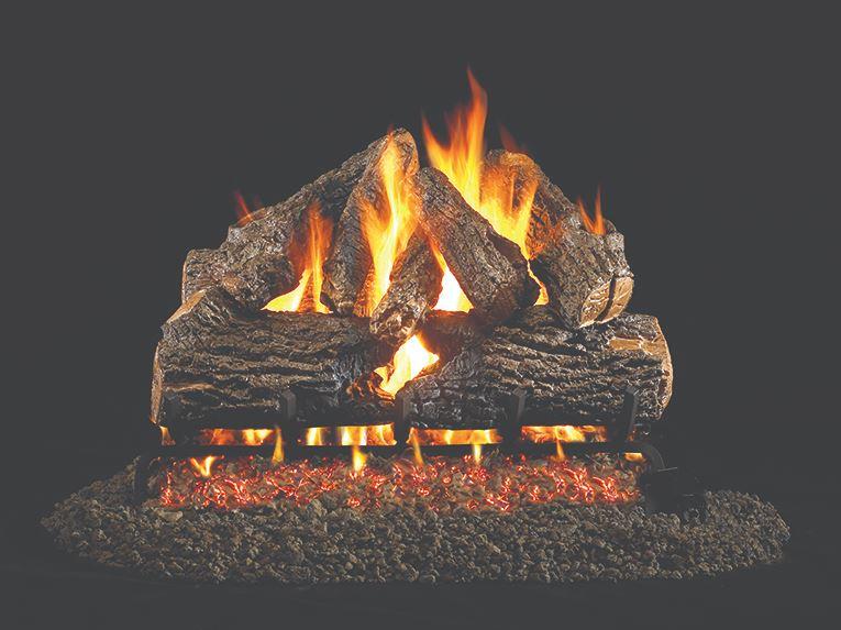 Charred Oak Log Set (Vented)