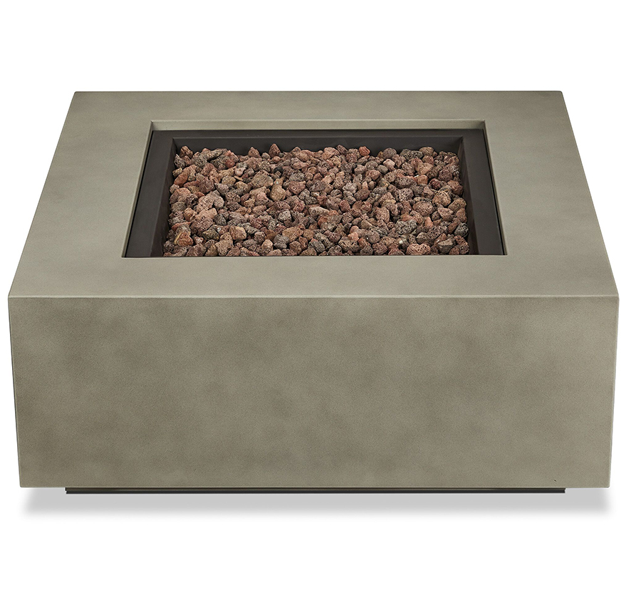 Outdoor Fire Table Front w/ Fire Off