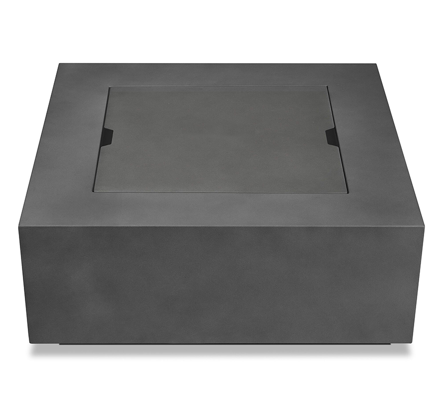 Outdoor Fire Table Front w/ Top Closed