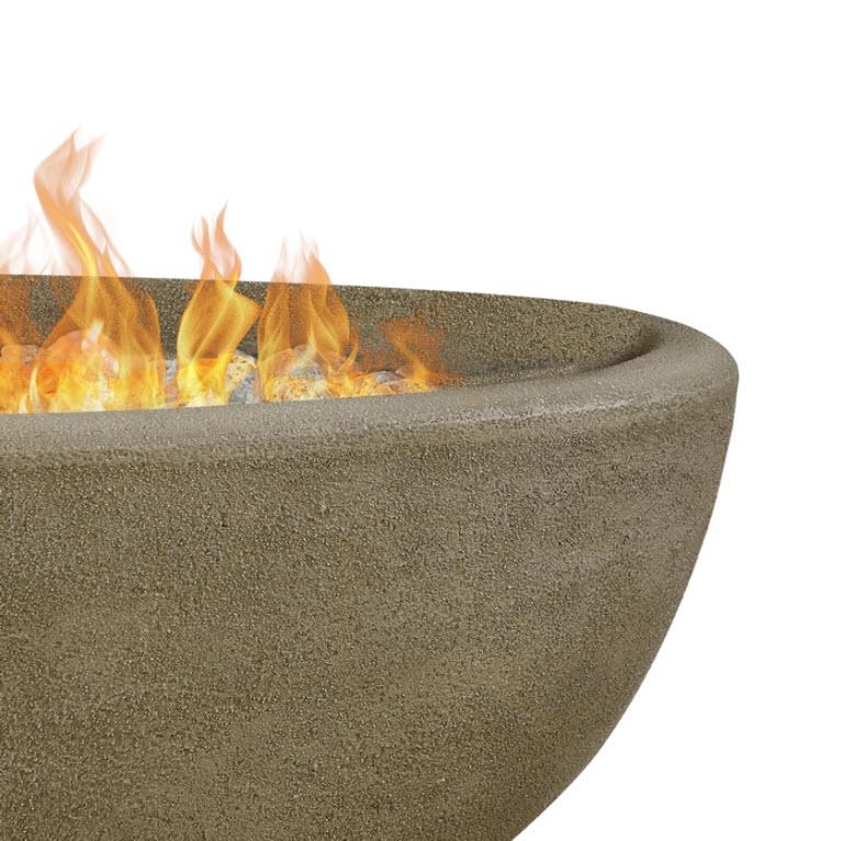 Riverside Oval Fire Bowl