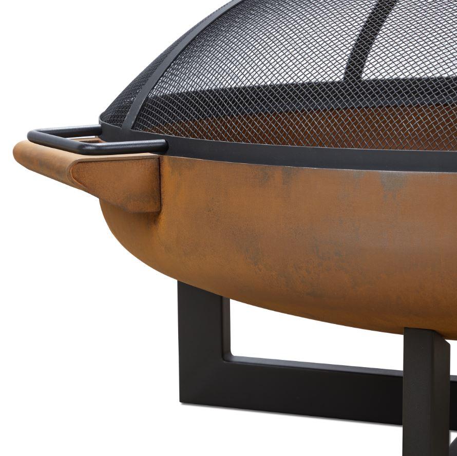 Fire Bowl w/ Rust