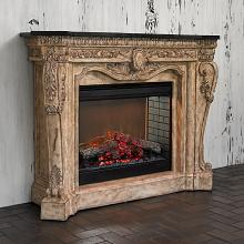Cast Stone Electric Fireplaces Free Shipping